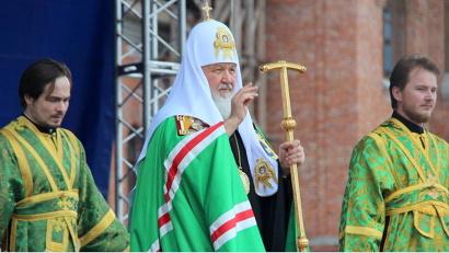 Патриарх обратился к пастве с проповедью и поздравил северян с 25-летием канонизации святого праведного Иоанна Кронштадтского