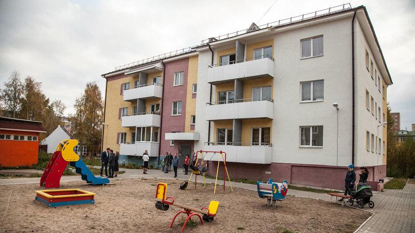 Квартиры в новом доме получили 24 семьи работников бюджетной сферы