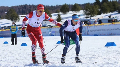 Победитель мужской гонки – команда «Тюменская область – 1». Фото: агентство по спорту Архангельской области