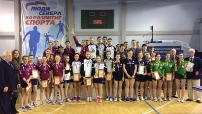 На первенстве СЗФО архангельские теннисисты завоевали 12 медалей