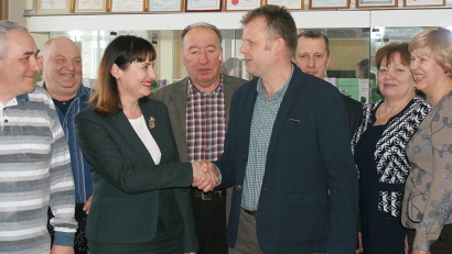 Ирина Бажанова предложила представителям компании «Маккейн Агрикультура (Рус)» заключить соглашение о сотрудничестве