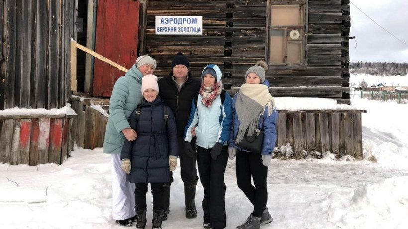 Мобильная бригада Приморской больницы провела обследование жителей отдаленных деревень