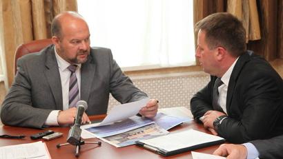 Главной темой встречи стали социальные стройки Ленского района