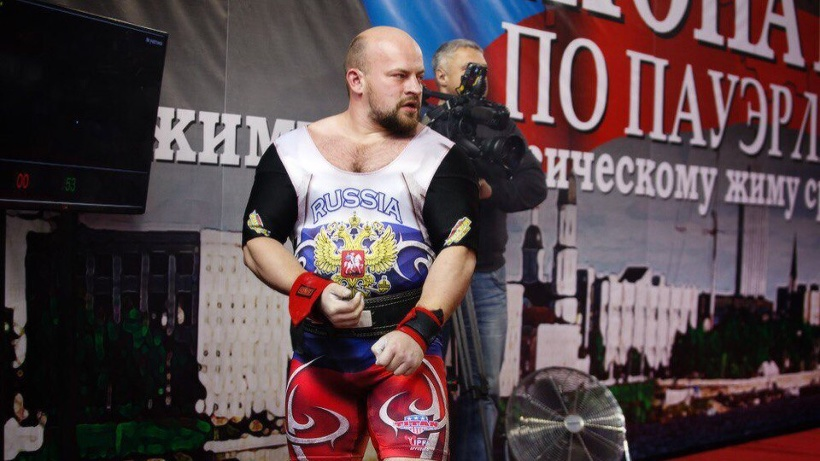 Владимир Гришаев завоевал золотую медаль на чемпионате России по пауэрлифтингу