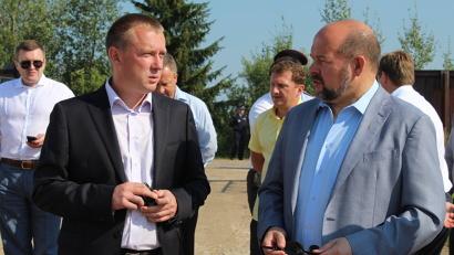 Игорь Орлов обсудил с предпринимателем Владимиром Шаниным не только развитие завода, но и проблемы малого бизнеса