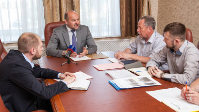 Губернатор: «Перед вами стоят две стратегические задачи: развитие среднего и малого бизнеса и развитие инфраструктуры»