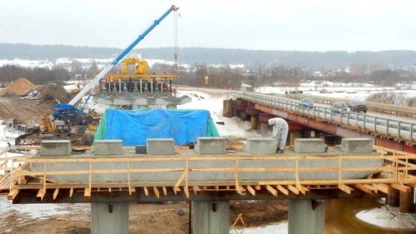 Мост через Устью планируют сдать в конце этого года