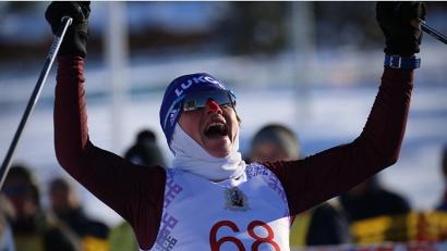 На финише – Лариса Рясина из Санкт-Петербурга