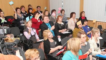 Фестиваль собрал педагогов со всех районов области