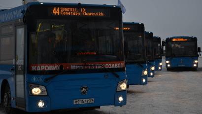 Новые автобусы будут работать в Архангельске на маршрутах №№ 9, 11, 12, 42, 44, 54, 60