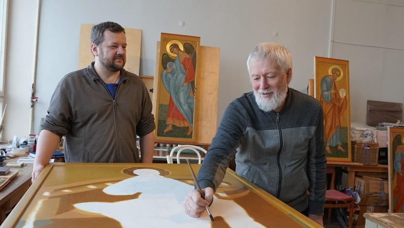 Архангельские иконописцы Сергей Егоров и Игорь Лапин скопировали восемь древних икон