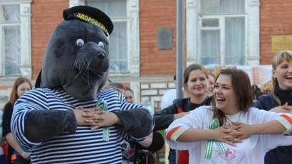 Тюлень Здоровейка – за здоровый образ жизни!