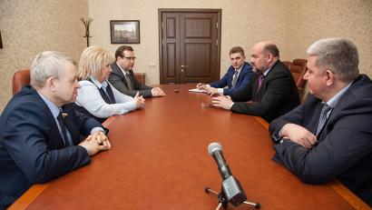 Встречи с депутатами Государственной Думы проходят регулярно
