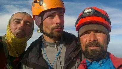 Расим Кашапов, Дмитрий Рыбальченко и Михаил Вещагин