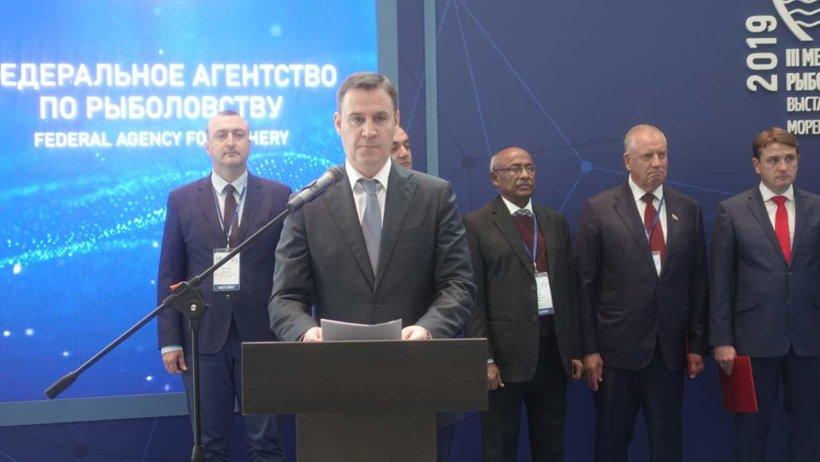 Форум открыл Министр сельского хозяйства РФ Дмитрий Патрушев