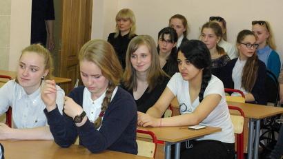 Школьники порадовали спикеров разнообразием вопросов