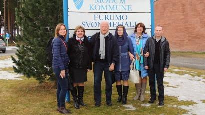 Врачи посетили центр здоровой жизни в норвежском муниципалитете Модум