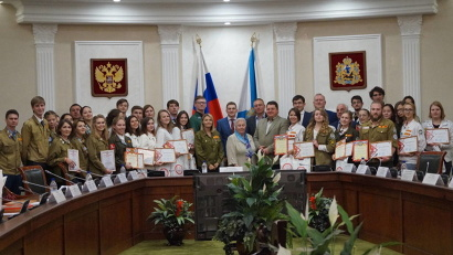 В этом году всероссийский студенческий медицинский отряд «Коллеги» собрал в Архангельске более 30 студентов из 14 регионов