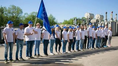 Профильный энергетический студенческий отряд «Фотон» будет трудиться на объектах «Архэнерго» до 15 августа. Фото пресс-службы «Архэнерго»