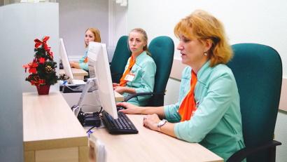 Всё в новой регистратуре ориентировано на удобство как пациентов, так и медиков