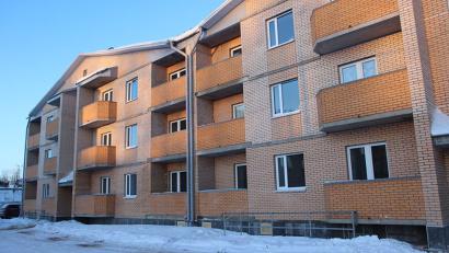 В дом 25 на улице Индустриальной уже заселяются новосёлы. Фото Андрея Мирошникова