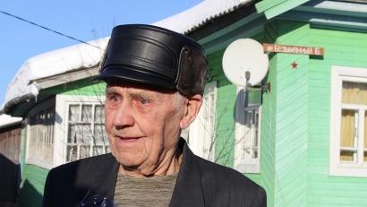 Красная звездочка украсила дом ветерана Великой Отечественной войны Алексея Андреевича Медведева