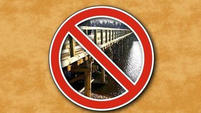 По причине беспрецедентного осеннего шугохода и ледохода на региональной сети автодорог Вельского района разрушены три низководных моста