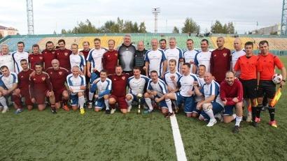 Футбол объединил звёзд российского спорта и сборную Поморья