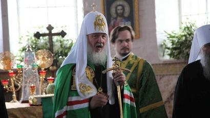 Патриарх Кирилл: «Земля сия, исполненная многих богатств, удивительная по красоте, также должна возродиться, как возродится и Отечество наше»