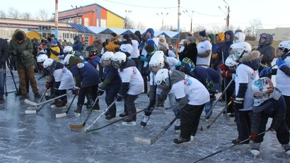 Хоккейный праздник «Студёный лёд» в Северодвинске пройдёт на площадке открытой ледовой арены «Строитель»