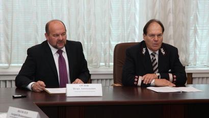 Игорь Орлов и Василий Билоха обсудили ключевые вопросы транспортной повестки региона