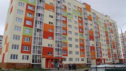 Новый дом на Московском проспекте в Архангельске