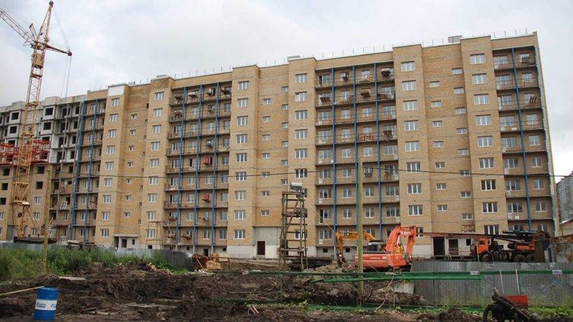 Первая очередь дома на Московском проспекте завершена