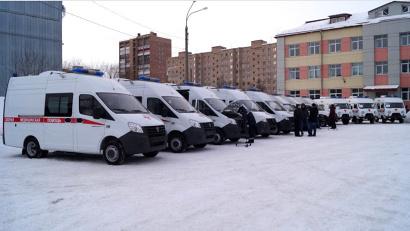 Автомобили скорой помощи укомплектованы современным медицинским оборудованием