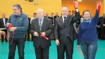 В церемонии открытия приняли участие мэр Северодвинска Михаил Гмырин и министр Елена Доценко