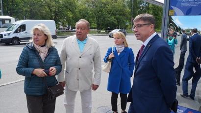 Экспертов интересовала доступность транспортной инфраструктуры для жителей областного центра. Фото: издательский дом «Двина»