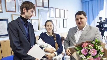 У Светланы и Михаила Кирьяновых это уже третий ребёнок