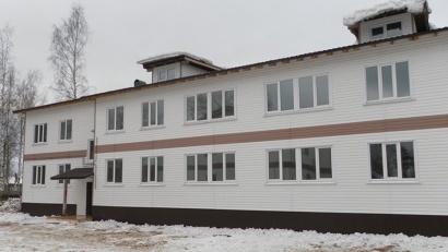 Новый дом построен на средства федерального и областного бюджетов. Фото  администрации МО «Вельский муниципальный район»