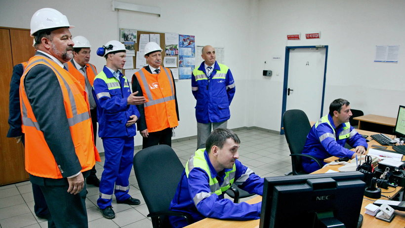 Полпред познакомился с деятельностью одного из крупнейших в России и Европе лесохимических производств