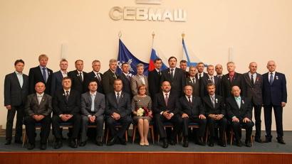Награды получили более 20 работников Севмаша