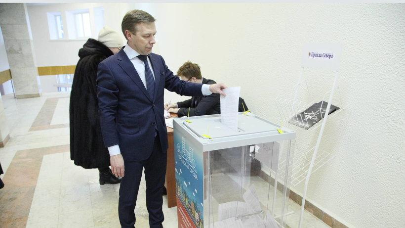 Андрей Поташев выбрал парк имени Ломоносова