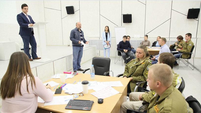 В Архангельске игра «Проектогенерация» прошла на площадке областного Дома молодёжи