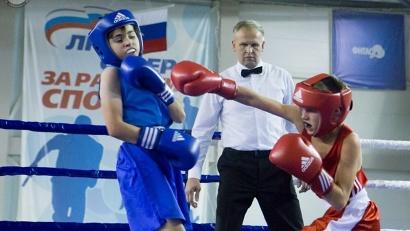 На ринге – будущие мастера спорта