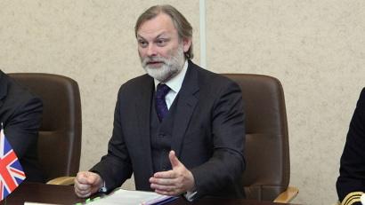 Чрезвычайный и полномочный посол Великобритании в России господин Тим Барроу