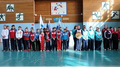 В состязаниях приняли участие 150 юных спортсменов