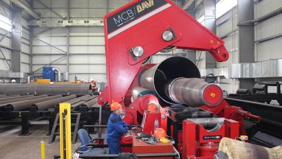 Сваи-оболочки будут отправлены для строительства порта Сабетта на Ямальском полуострове