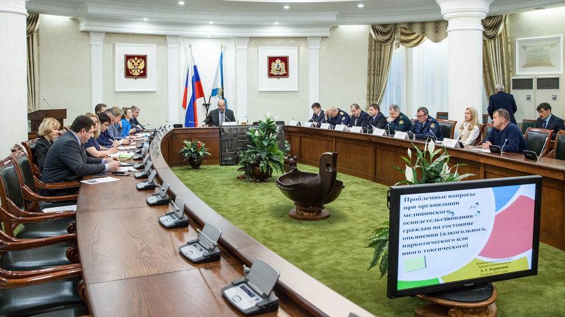 Игорь Орлов обсудил с силовиками и представителями общественности профилактические меры в борьбе с наркоманией