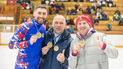 В спортивном празднике приняли участие участники Олимпийских игр Александр Румянцев и Глеб Писаревский, а также легендарный хоккеист Игорь Гапанович
