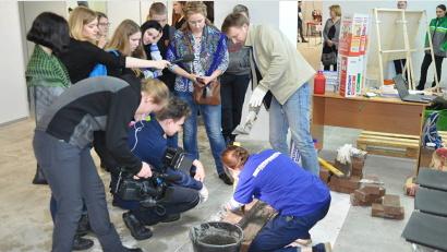 Для зрителей чемпионата WorldSkills организованы мастер-классы по рабочим профессиям