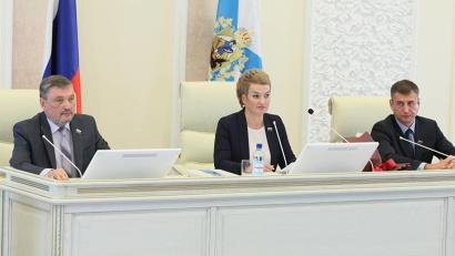 Региональный парламент возглавила Екатерина Прокопьева